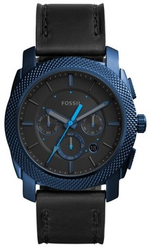 Fossil Men's Machine Chronograph Bracelet Watch, 45Mm