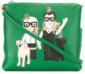 Dolce & Gabbana Karl zipped shoulder bag
