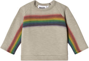 Molo Rainbow Print Do Sweatshirt