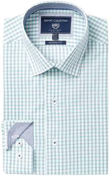 Report Collection Modern Fit Check Dress Shirt
