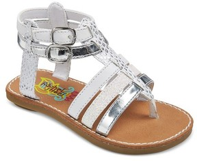 Rachel Toddler Girls' Lil Mercedes Gladiator Sandals