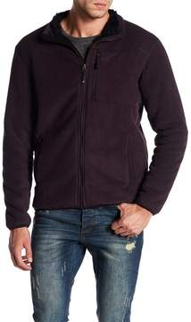 Weatherproof Stripe Fleece Jacket