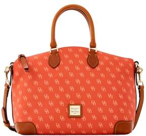 Dooney & Bourke Gretta Satchel - ORANGE PEACH - STYLE