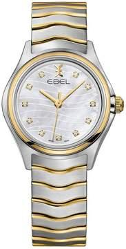 Ebel Wave Mother of Pearl Diamond Dial Ladies Watch