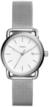 Fossil Women's The Commuter Mesh Strap Watch, 34Mm