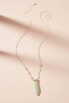 Anthropologie Well Wishing Pendant Necklace