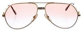 Cartier Vendome Santos 18K Sunglasses
