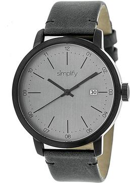 Simplify The 2500 Collection SIM2505 Men's Watch with Leather Strap