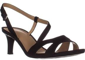 Naturalizer Harmony Strappy Comfrot Sandals, Black.