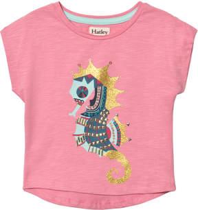 Hatley Pink Jeweled Seahorse T-Shirt
