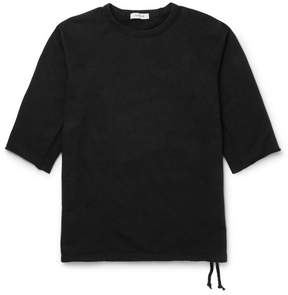 Nonnative Dweller Drawstring-Hem Loopback Cotton-Jersey Sweatshirt