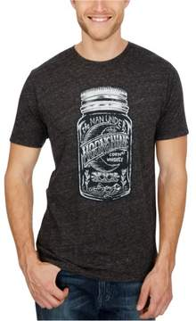 Lucky Brand Mens Moonshine Graphic T-Shirt Grey L