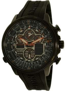 Citizen Men's JY8035-04E Navihawk A-T Rubber Watch, 48mm