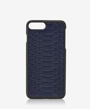 GiGi New York Iphone 7 Plus HardShell Case In Navy Embossed Python