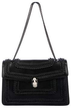 Bvlgari Leather Serpenti Bag