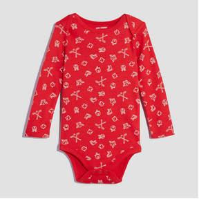 Joe Fresh Baby Boys' All Over Canada Print Bodysuit