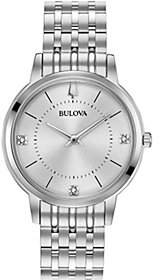 Bulova Women's Classic Slim Case DressWatch