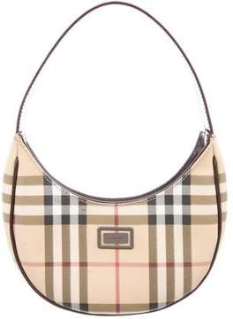 Burberry Nova Check Mini Hobo