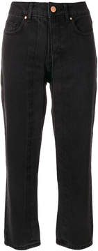 Aalto fixed pleat cropped jeans