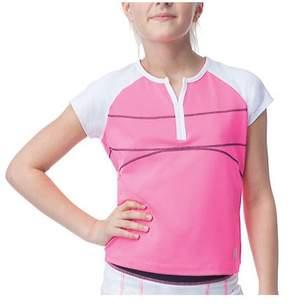 Fila Girls' Glow Cap Sleeve Top