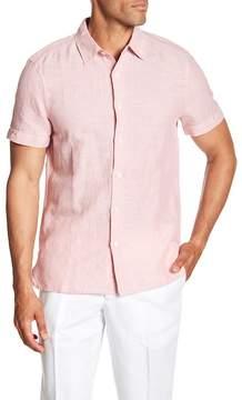 Perry Ellis Linen Blend Regular Fit Shirt