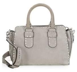 Rebecca Minkoff Midnighter Leather Medium Bag - GREY - STYLE