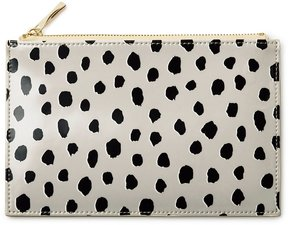 Kate Spade Flamingo Dot Pencil Pouch - BLACK - STYLE