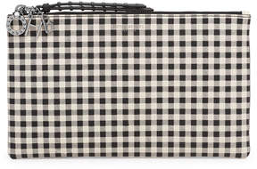 Henri Bendel Gingham Novelty Pouch