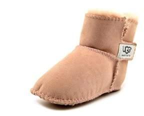 UGG I Erin Toddler Round Toe Suede Pink Winter Boot.