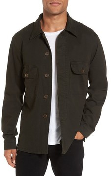 Hudson Men's Slim Fit Shirt Jacket