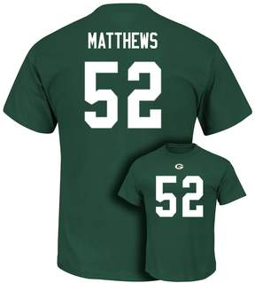 Majestic Men's Green Bay Packers Clay Matthews Eligible Receiver Tee