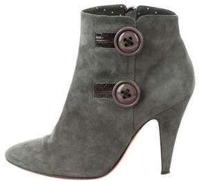 Moschino Cheap & Chic Moschino Cheap and Chic Suede Ankle Boots