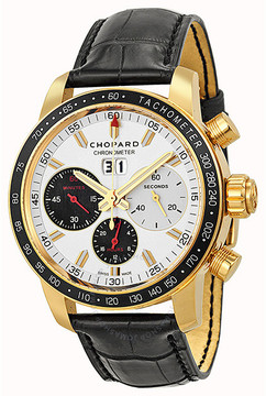Chopard Jacky Ickx Edition V Chronograph Automatic Silver Dial Men's Watch