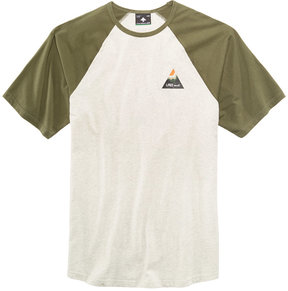 Lrg Men's Explore Raglan-Sleeve Baseball T-Shirt