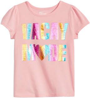 Epic Threads Toddler Girls Vacay Mode T-Shirt, Created for Macy's