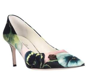 Bettye Muller Annie Pointed Toe Pumps, Pink Pansy.