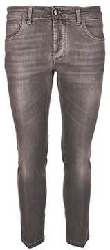 Entre Amis Men's Grey Cotton Jeans.