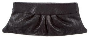 Lauren Merkin Embossed Eve Clutch