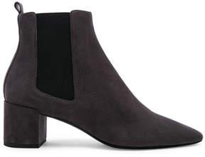 Saint Laurent Loulou Suede Chelsea Boots