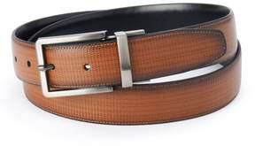 Apt. 9 Men's Tan & Black Textured Reversible Belt