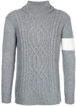 GUILD PRIME braid knit jumper