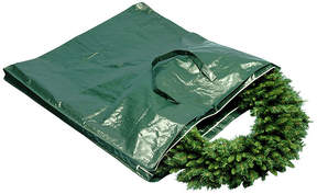 Co NATIONAL TREE National Tree Wreath And Garland With Handles And Zippers Wreath Storage Bag