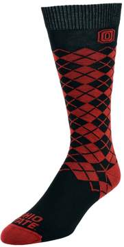 NCAA Men's Mojo Ohio State Buckeyes Argyle Socks
