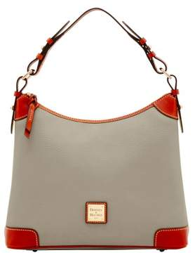Dooney & Bourke Pebble Grain Hobo Shoulder Bag - SMOKE - STYLE