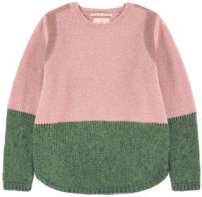Scotch & Soda Two-colored alpaca blend sweater
