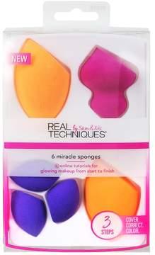 Real Techniques 6-pc. Miracle Complexion Sponge Set