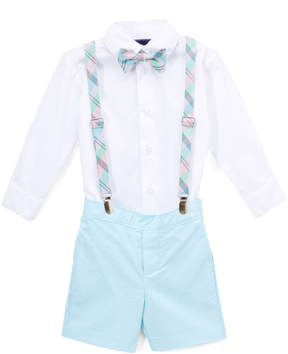 Izod Sea Aqua Suspenders Set - Toddler & Boys