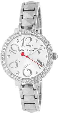 Betsey Johnson Women's Crystal Bracelet Watch