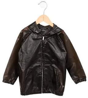 Little Marc Jacobs Boys' Hooded Rain Coat