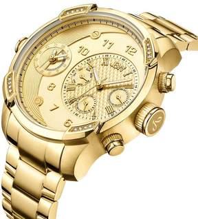 JBW Men's G3 0.16 ctw Diamond 18K Gold-Plated Watch